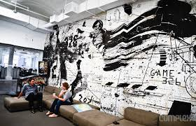 spotify york office spotify. spotify new york bringing street art into the office images via liz barclay requested credit f