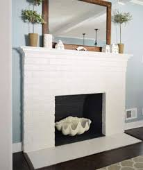 painting a fireplace whiteHow to Paint a Brick Fireplace  Transforming Old Brickwork