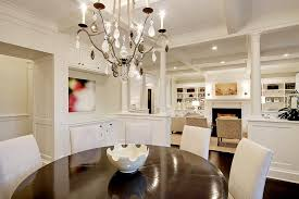 seattle column room divider with brown standard height dining tables traditional and chandelier wood floor