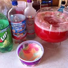 ice cream vodka drink 7up rainbow shurbert hawiian punch vodka xd samantha laramore please