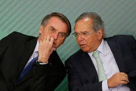 Resultado de imagem para  Ministro Paulo Guedes e para o Presidente Bolsonaro