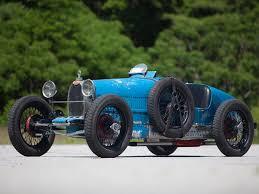Gp body, wire wheels, small radiator; Bugatti Type 37 Market Classic Com
