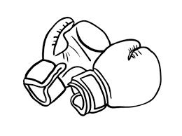 картинки по запросу боксерские перчатки рисунок карандашом влад