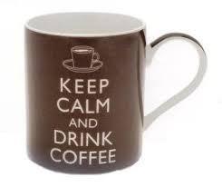 office mug. Keep Calm And Drink Coffee Mug Office