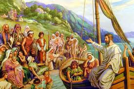 Image result for jesus no lago de genesaré