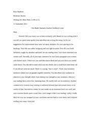 writing formal essay peer response if you did not write  1 pages writing 201 formal essay feedback leeter