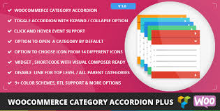 WooCommerce Category Accordion Plus - Techie Resource