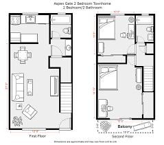 2 bedroom apartment floor plans du apartments rates aspen gate ryan homes