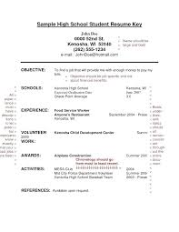 Resume Templates For No Work Experience Gorgeous Resume Template Teenager Peachy Resumes Resume Examples Example