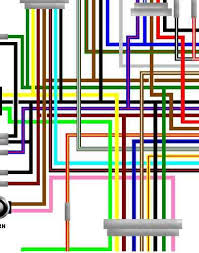 fj1100 fj1200 large laminated a3 colour wiring harness diagrams yamaha rd350n2 rd350f2 uk spec colour wiring diagram