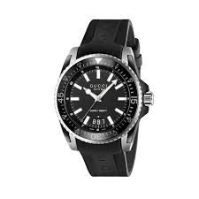 gucci dive men s black rubber strap watch gucci dive men s black rubber strap watch full size image