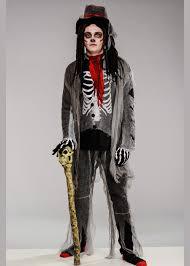 Adult Mens Halloween Deluxe Voodoo Costume Adult Voodoo Zombie Halloween  Costume