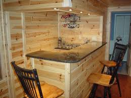 Rustic man cave bar Log Cabin Mancaves Side Bar The Woodworkers Shoppe Rustic Man Cave Build Your Own Log Cabin Man Cave