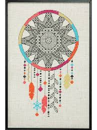 Easy Cross Stitch Patterns Gorgeous CrossStitch Downloads Blackwork Dreamcatcher Cross Stitch Pattern