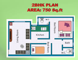 house plan 1 bhk floor plan for 20 x 35 feet plot 700 square feet