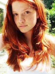 Natural redhead get dp