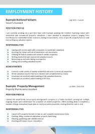 Real Resume Examples Examples Of Resumes