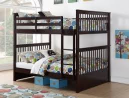 SONYA- WOODEN DOUBLE / DOUBLE BUNK BED FRAME - ESPRESSO BRAND NEW ...