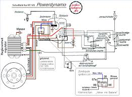 powerdynamo for ifa mz rt125 6 volt assembly instruction · wiring diagram · wiring diagram of rt 125 the system