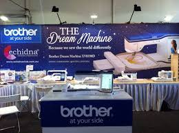 Brother Dream Catcher Sewing Machine Alanda Craft At The Canberra Quilt And Craft Fair 90