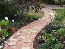 garden brick design ideas for patios