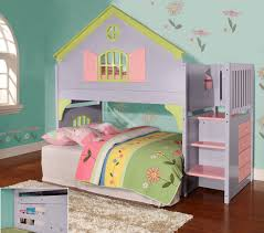 bunk beds for girls. Brilliant Bunk Twin Doll House Stair Step Loft For Bunk Beds Girls B