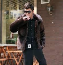 mens fake fur coat get fur coats for men mens fake fur coat