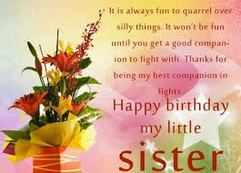 Best Sister Quotes Extraordinary 48 Happy Birthday Wishes For Baby Sister WishesGreeting
