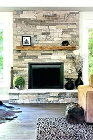 stone veneer fireplace ideas design stacked full size of river rock