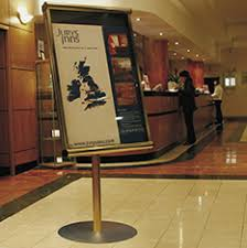 Hotel Display Stands Hotels Signs and Displays Discount Displays 2