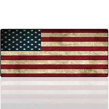 Imegny Extended Gaming Mouse Pad Portable American Flag Office