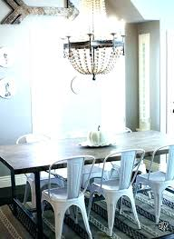 farmhouse dining table and chairs cool modern farmhouse dining table white metal dining chair farmhouse table
