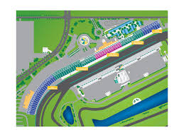 Homestead Speedway Seating Chart Grandstand Section Map Homestead Miami Speedway