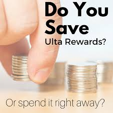 do you save your ulta points or do you spend them right away musings of a muse
