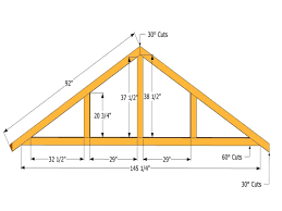 Shed Roof Designs 56 Roof Trusses Plans Shed Roof Design Drawings Shed Roof Truss
