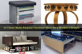10 Clever Multi-Purpose Furniture Ideas Meeting the Needs of a Modern  Lifestyle - Freshome.com