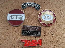 gold plated motorcycle badge free hrd