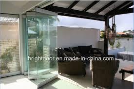 majestic doors glass frameless folding doors sliding door