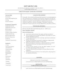 Ophthalmic Assistant Sample Resume Amazing Resume Now Technician Examples Template 44 Free Samples Format