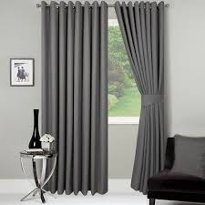 our widest width curtains are suitable for dressing bay windows