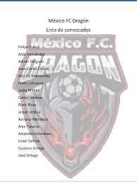 Mexico FC Dragón - Página inicial