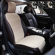 automotive 2pc black front seat