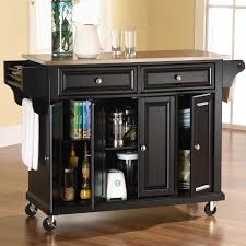 Kitchen Cart With Granite Top Kitchen Island Cart With Granite Top Espresso Finish Three Open