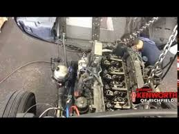kenworth t680 paccar mx13 engine removal time lapse kenworth t680 paccar mx13 engine removal time lapse
