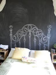 Surprising Diy Chalkboard Headboard Photo Decoration Ideas ...