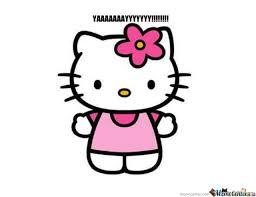 Hello Kitty! by hellokittyluv - Meme Center via Relatably.com