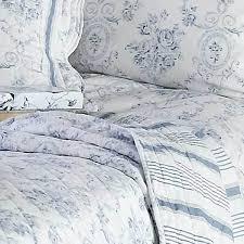 blue queen sashi bed linen vienna toile de jouy 100 cotton duvet cover setdorma heather collection set light