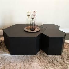 geometric wood coffee table page 1