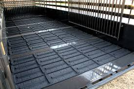 cattle trailer x lug cleated rubber flooring