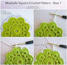 Square Crochet Pattern Best Design Inspiration